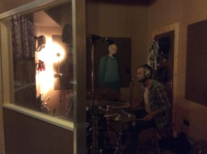 Ashley Hallinan Recording with Mahoney & The Moment at Soup