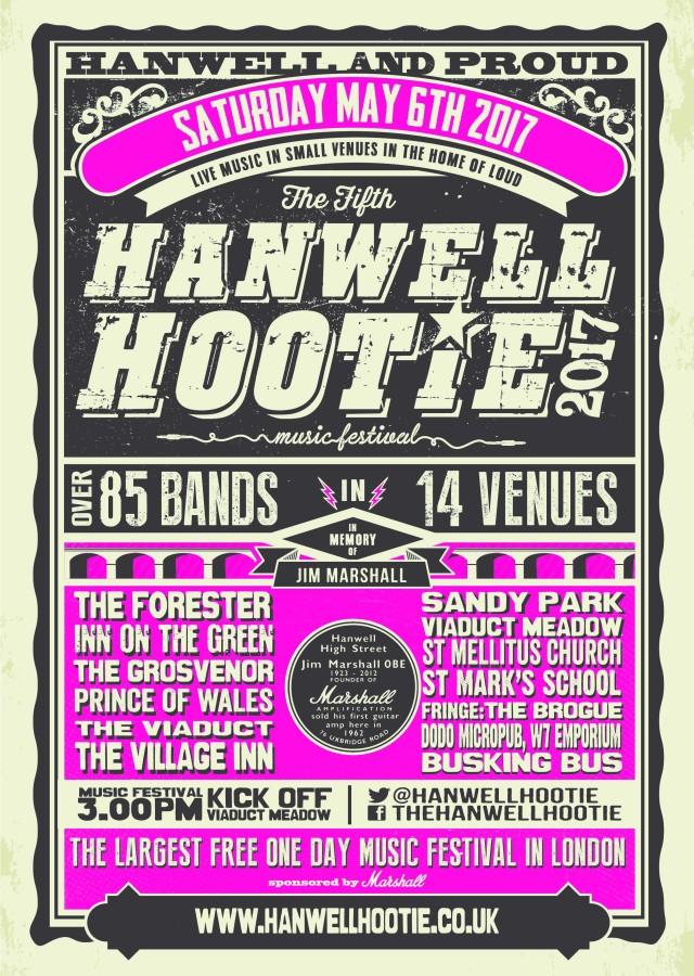 Hanwell Hootie poster